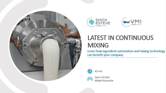 Webinar The Latest in Continuous Mixing