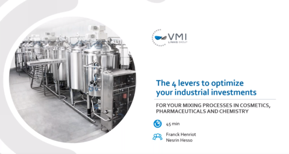 Replay of webinar the 4 levers to optimize your industrial investments